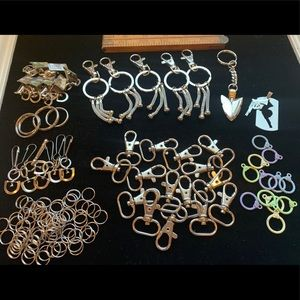 DIY keychain findings blanks components crafts